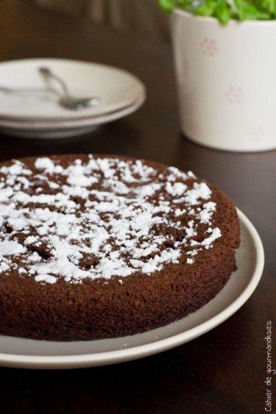 Moelleux au Chocolat & Courgette (sans beurre) | Recette ...