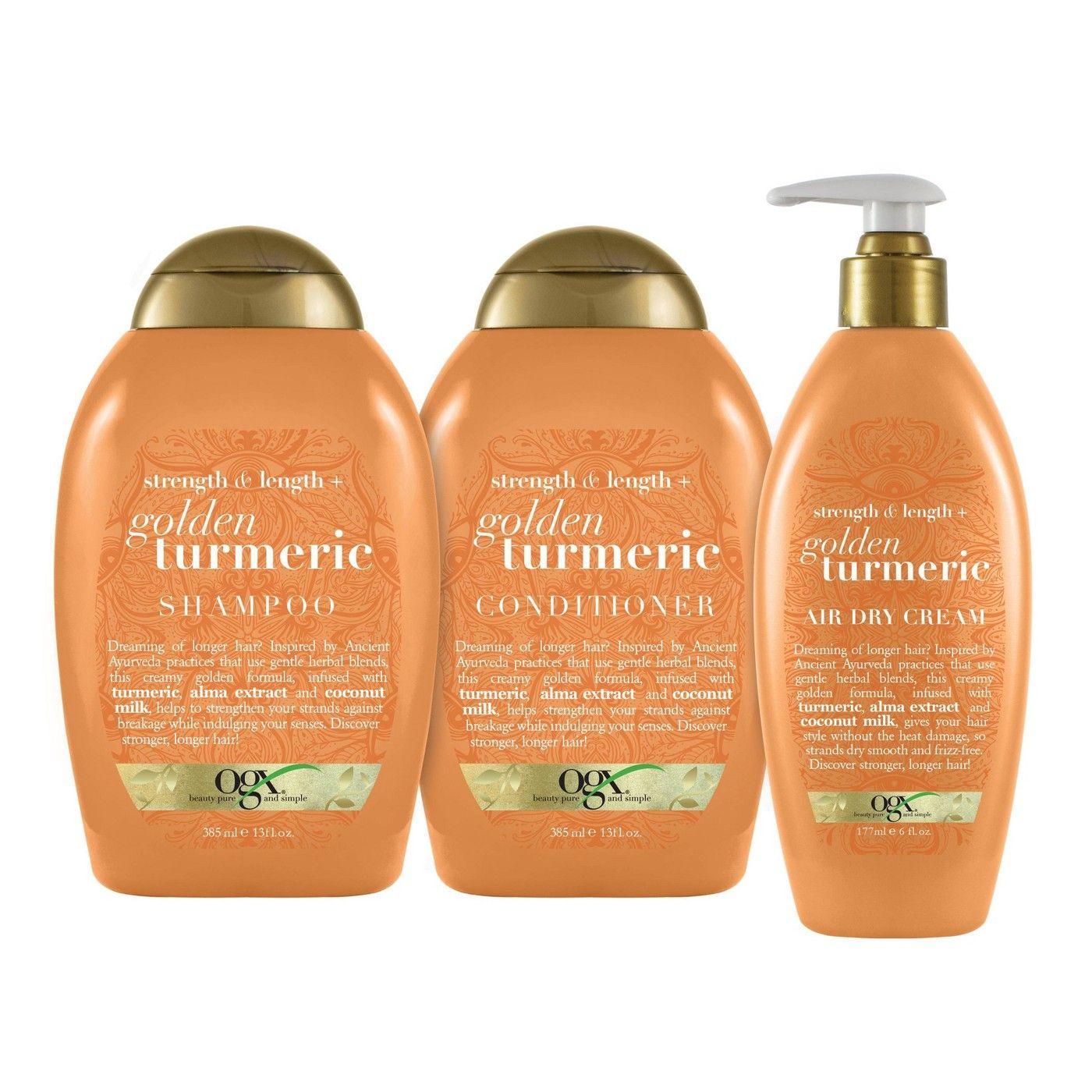 Ogx Golden Turmeric Shampoo 13oz Affiliate Turmeric Aff