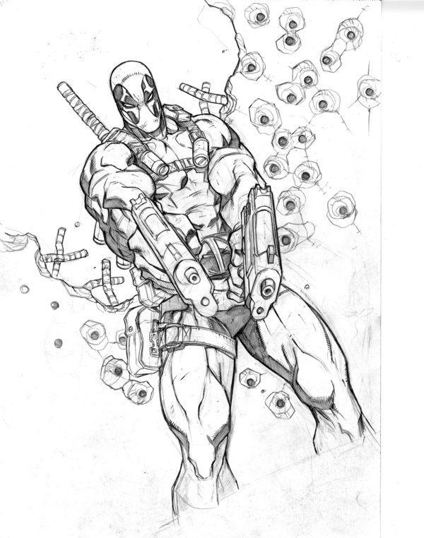 Deadpool #Fan #Art. (Deadpool) By: MiaCabrera. ÅWESOMENESS!!!™ ÅÅÅ+ ...