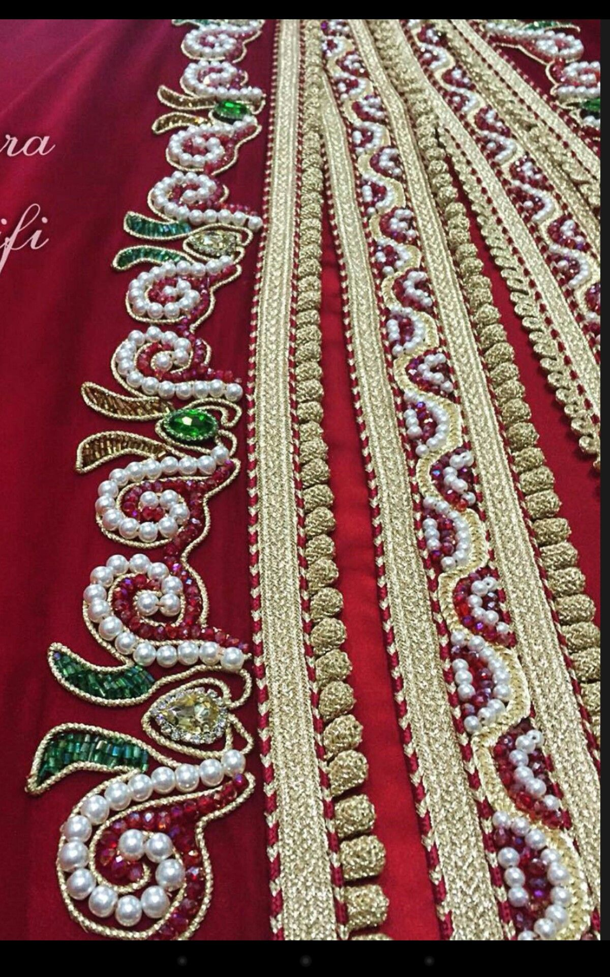 Pin by nina nina on perles pinterest caftans pearl embroidery pearl embroidery hand embroidery kaftans beadwork sequins dressing rooms ganchillo beading embroidery patterns bankloansurffo Images