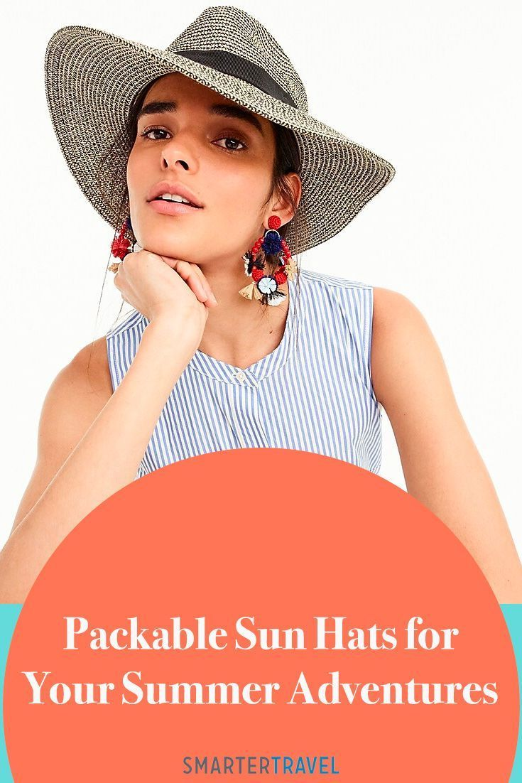 9 Packable Sun Hats for Your Summer Adventures #travelwardrobesummer