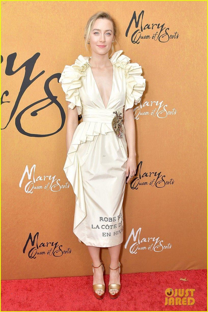 Saoirse Ronan Nice dresses, Ladies dress design, Red