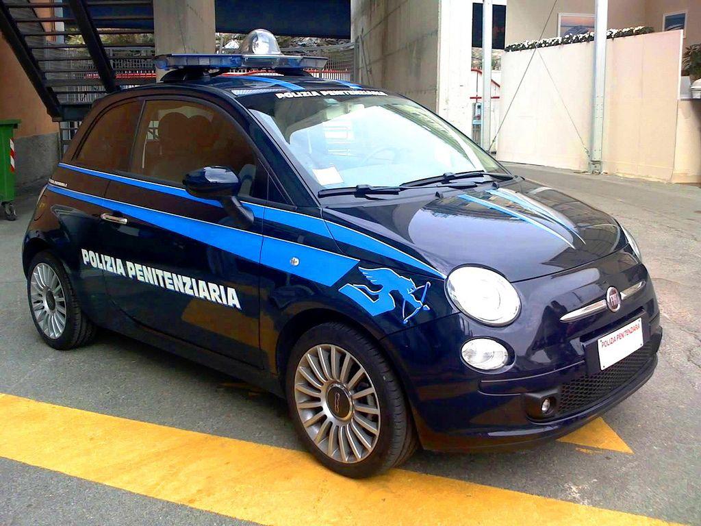 08 10 09 Fiat 500 Polizia Penitenziaria Penitentiary Police