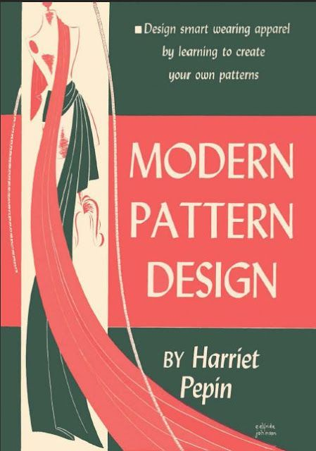 Free Pattern Drafting Book Download Modern Pattern Design Pattern Making Books Pattern Drafting