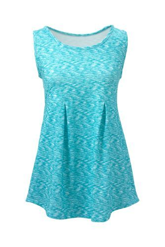 79dc4d20cdb076 Women s+Active+Pleated+Tank+Top+from+Lands +End