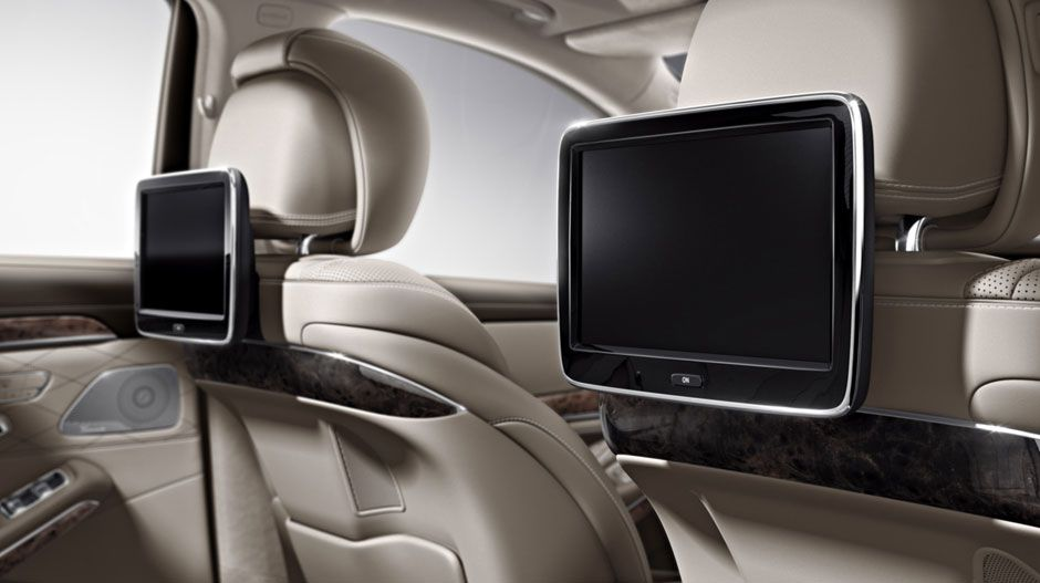 in silk beige espresso brown with rear seat entertainment