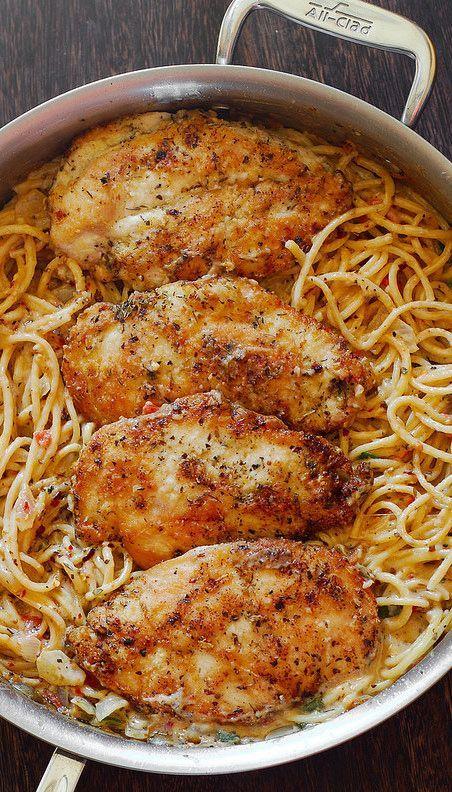 Creamy Chicken Pasta