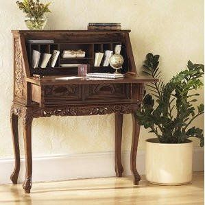 Old fashioned writing desk