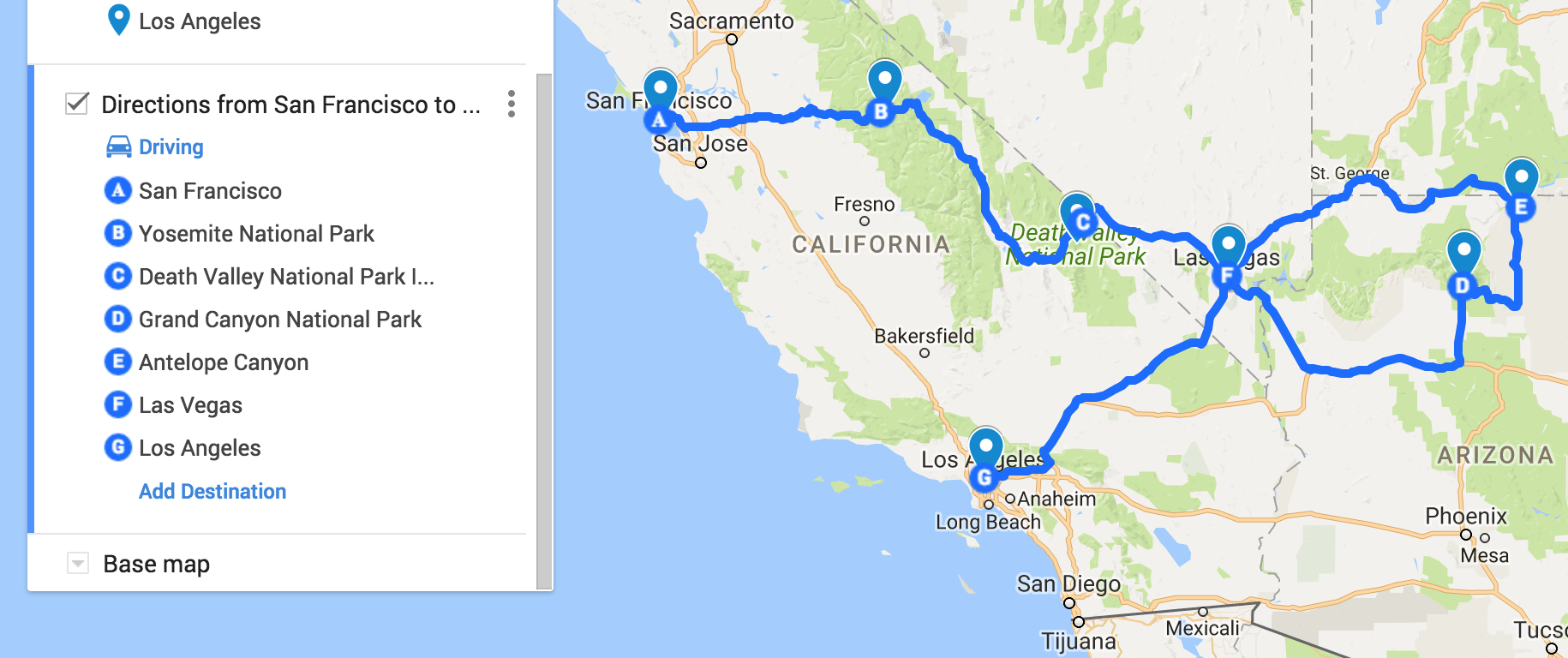 The Ultimate 14D USA West Coast Road Trip Itinerary for First-Timers ...