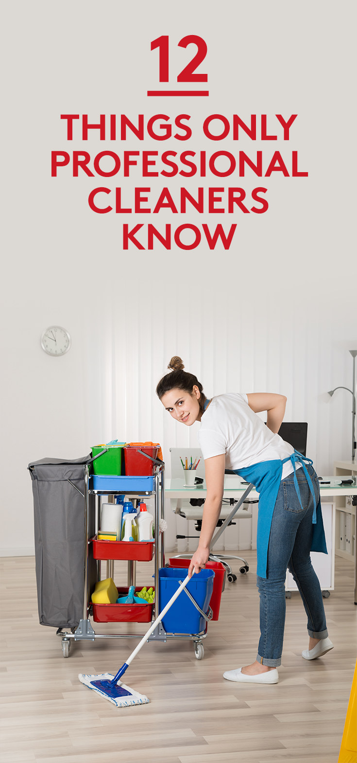 12 Things Only Professional Cleaners Know #cleaning