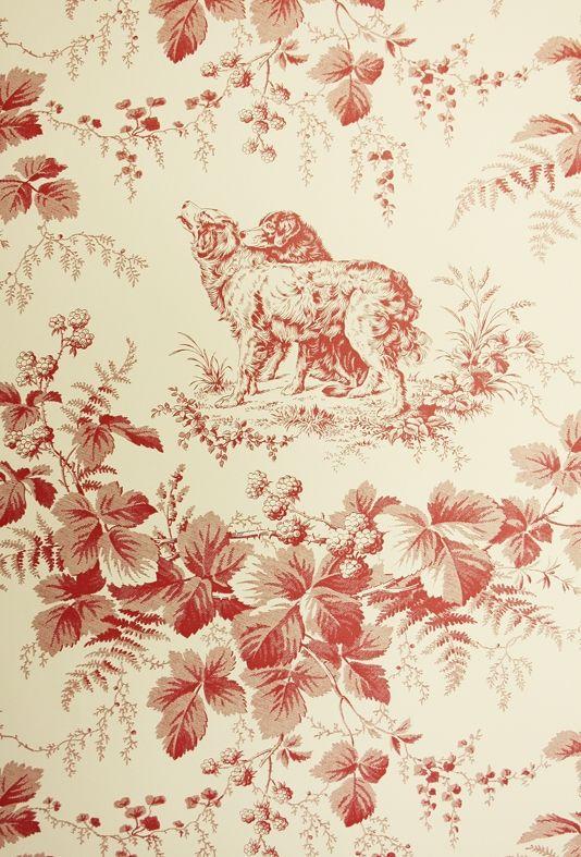 Pedigree Wallpaper Toile Wallpaper Toile Pattern Mural Wallpaper