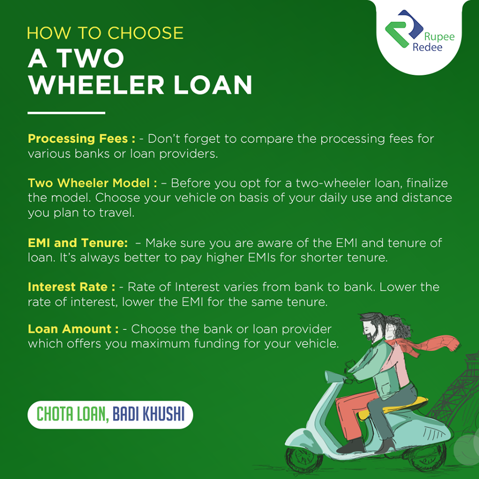 Are You Really Upset With The Uncertain Availability Of Public Transport For Reaching Your Office A Personal Two Wheeler Can Help Y Personal Loans Loan Person