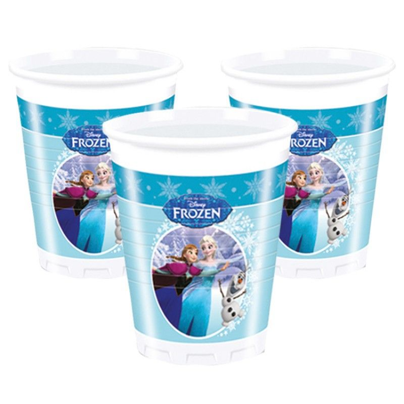 Frozen Ice Skating Kelímky 8ks 200ml