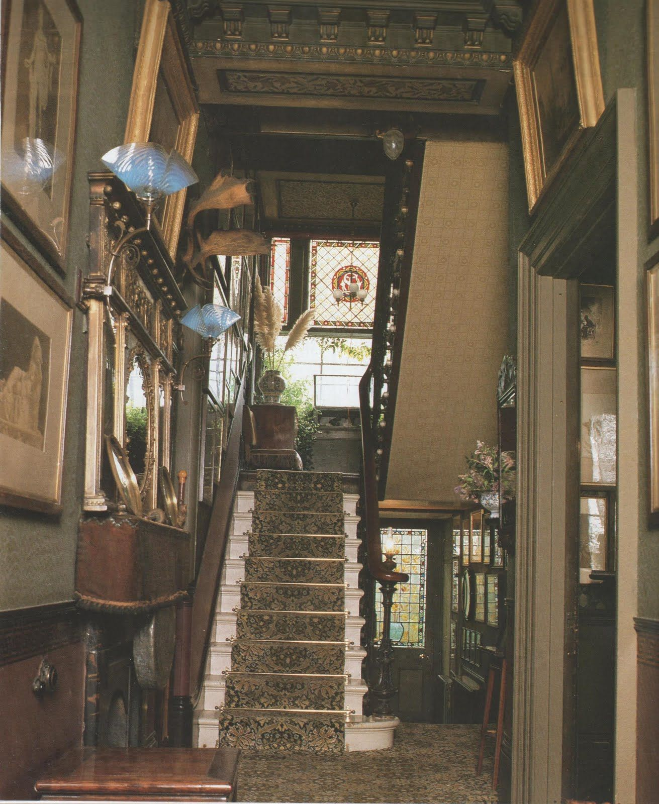 The Following Are Pictures From The Book Victorian House