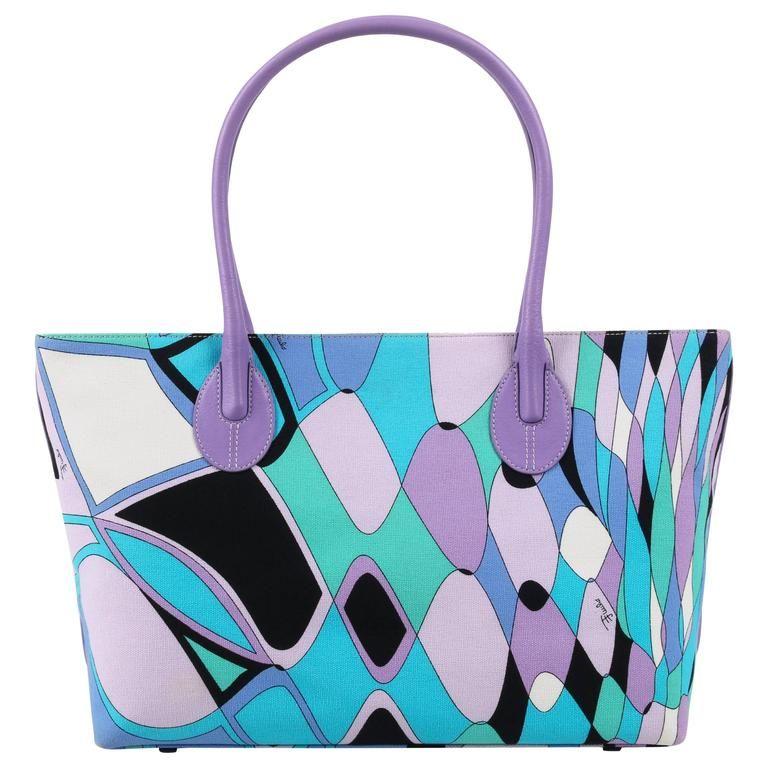 printed shoulder bag - Multicolour Emilio Pucci hfGQ1beE