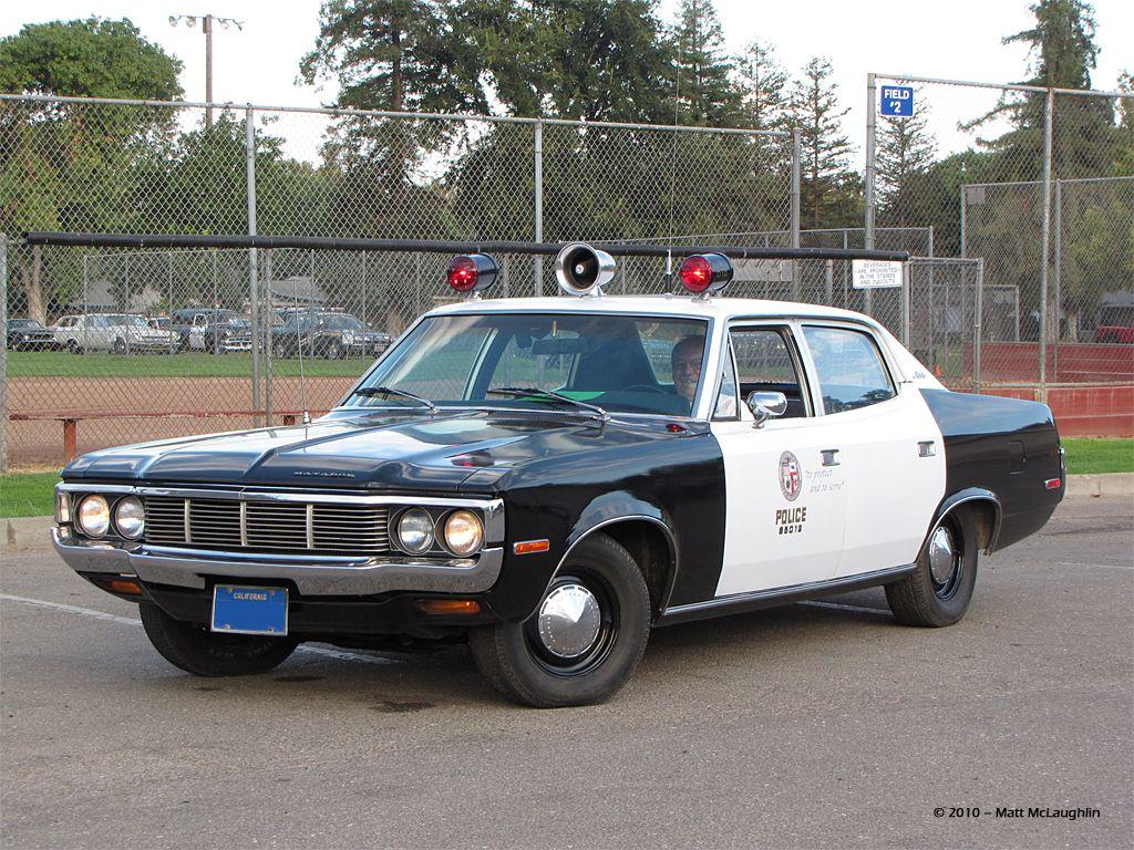 1974 Amc Matador Police Car Hewy Ruth Wick