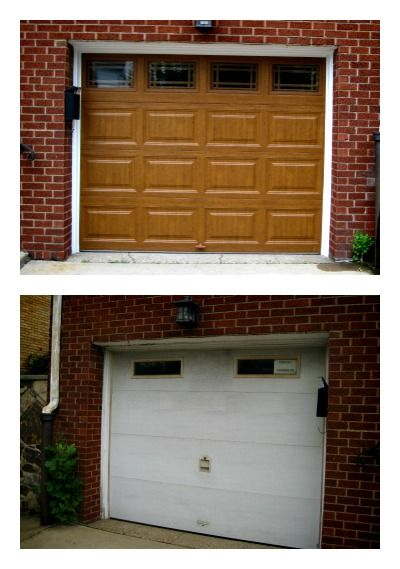 Clopay 9200 Rp Garage Door In Medium Oak Work Done By Thomas V Giel Corporation 1 800 641 4435 Garage Doors Residential Garage Doors Doors