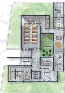 Funeral Home Floor Plans 1.jpeg (480×343) | Funeral Homes | Pinterest |  Funeral