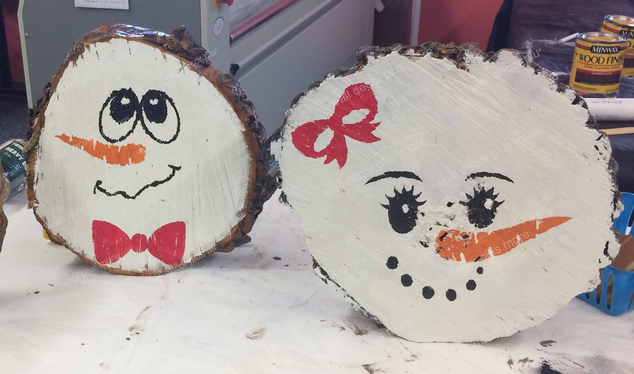 Snowman Face Stencil Sticker For Winter Decoration Painting Diy Wood Snowman Faces Christmas Craft Show Christmas Diy Wood