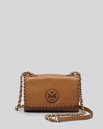 97f87641fa9 Tory Burch Shoulder Bag - Marion Shrunken