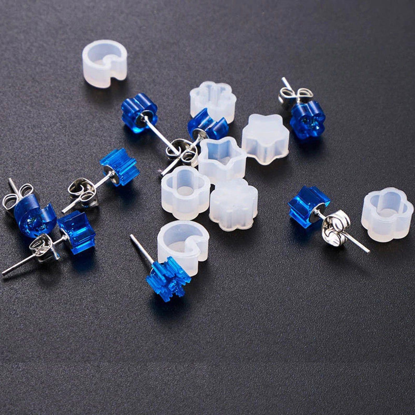 Snowflake Christmas Earrings Mold,Silicone Earring Silicone Mold Mold Supply Jewelry Mold