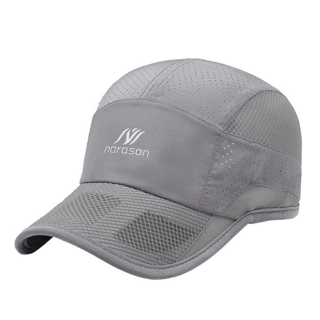 a1c097595cf Quick Dry · Men Golf Clothing - Unisex Sports Baseball Cap Womens Mens  Breathable Mesh Summer Beach Fishing Running