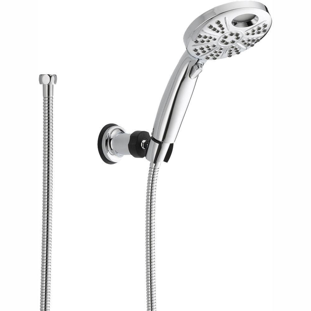 Delta Temp2o 6 Spray 4 8 In Single Wall Mount Handheld Shower