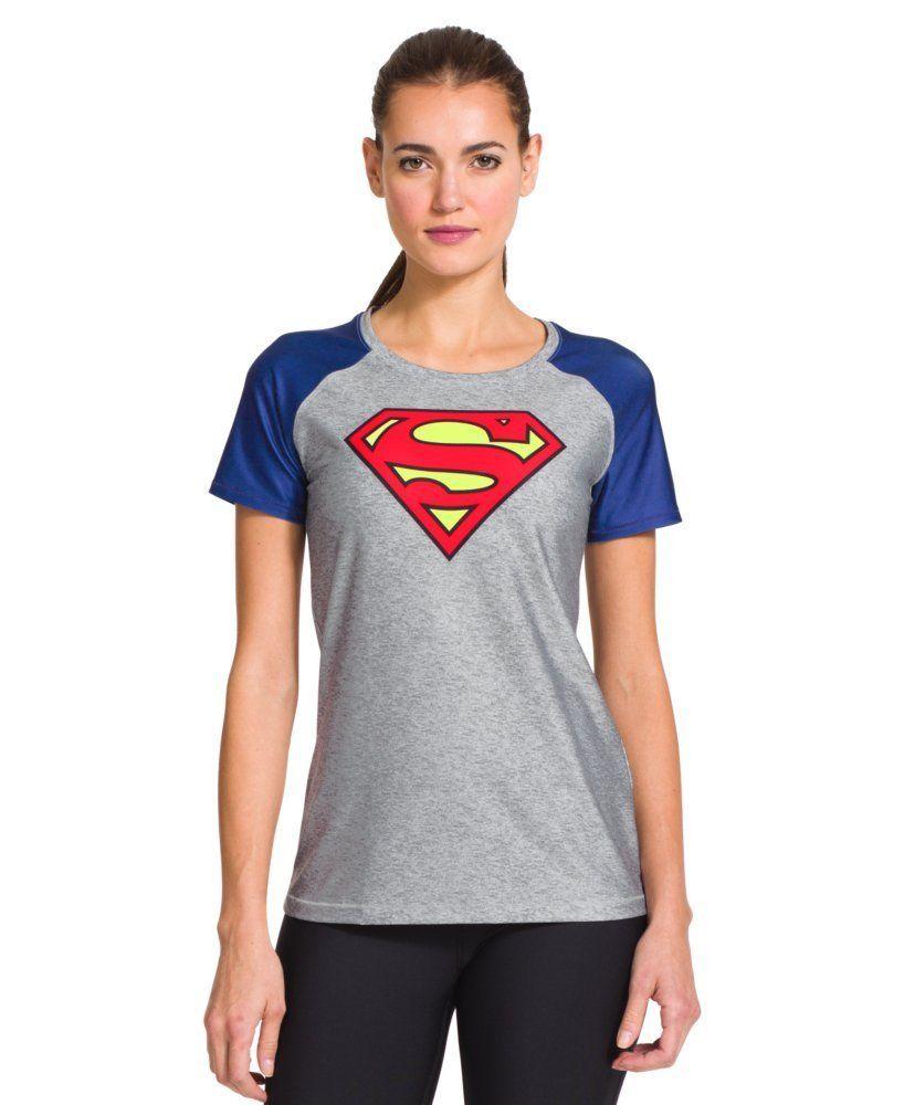e42d5617 Under Armour Women's HeatGear® Sonic Supergirl T-Shirt. Visit Site For More  Info.