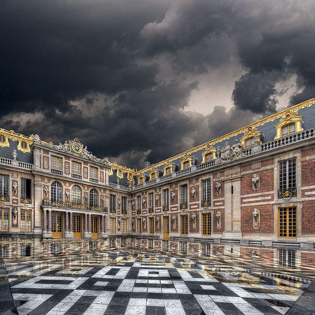 Versailles | Chateau versailles, Orage, Versailles