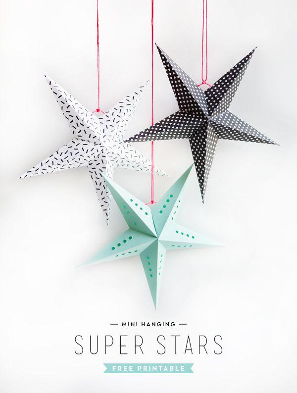 Un joli DIY aujourd'hui pour fabriquer des étoiles de Noël. Niveau de difficulté: moyen. L'assemblage des branches des étoiles de manière harmonieuse est la partie délicate de ce DIY. On a besoin d...