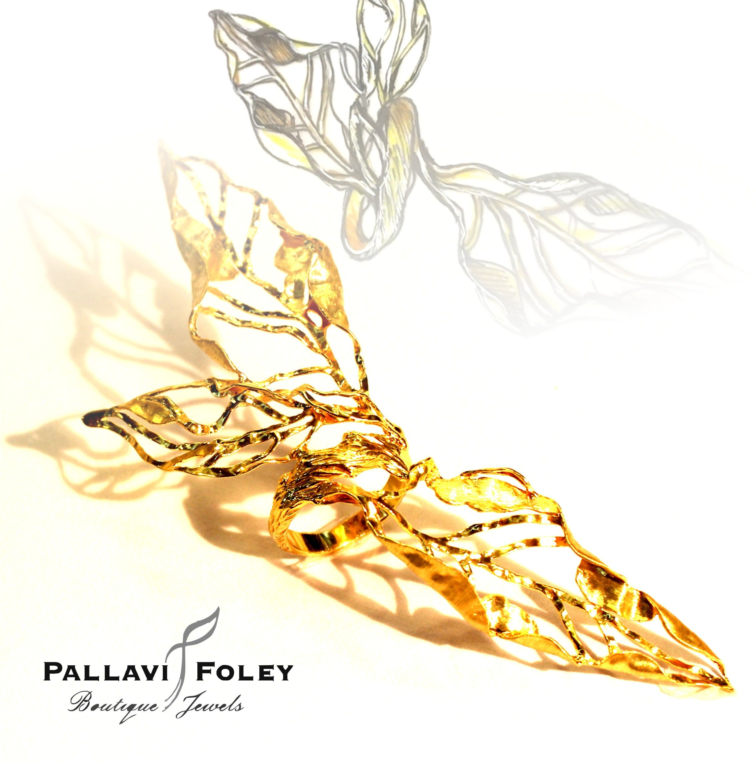 Cocktail ring by jewellery designer Pallavi Foley cocktailring