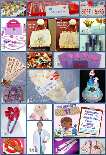 Disney Donna Kay Disney Party Boards Doc McStuffins Party