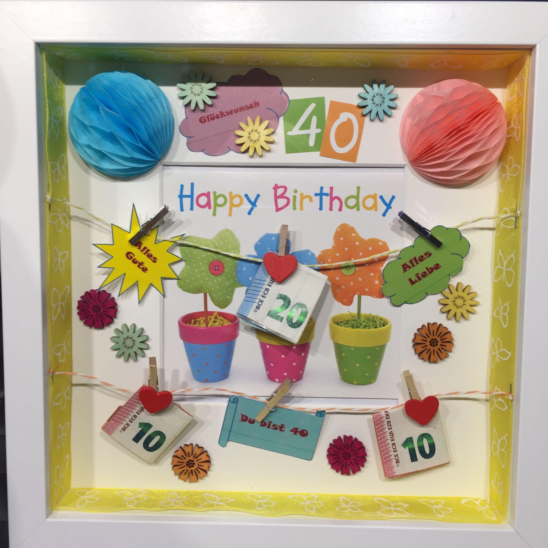 40. Geburtstag für eine gute Freundin   Kleine geschenke