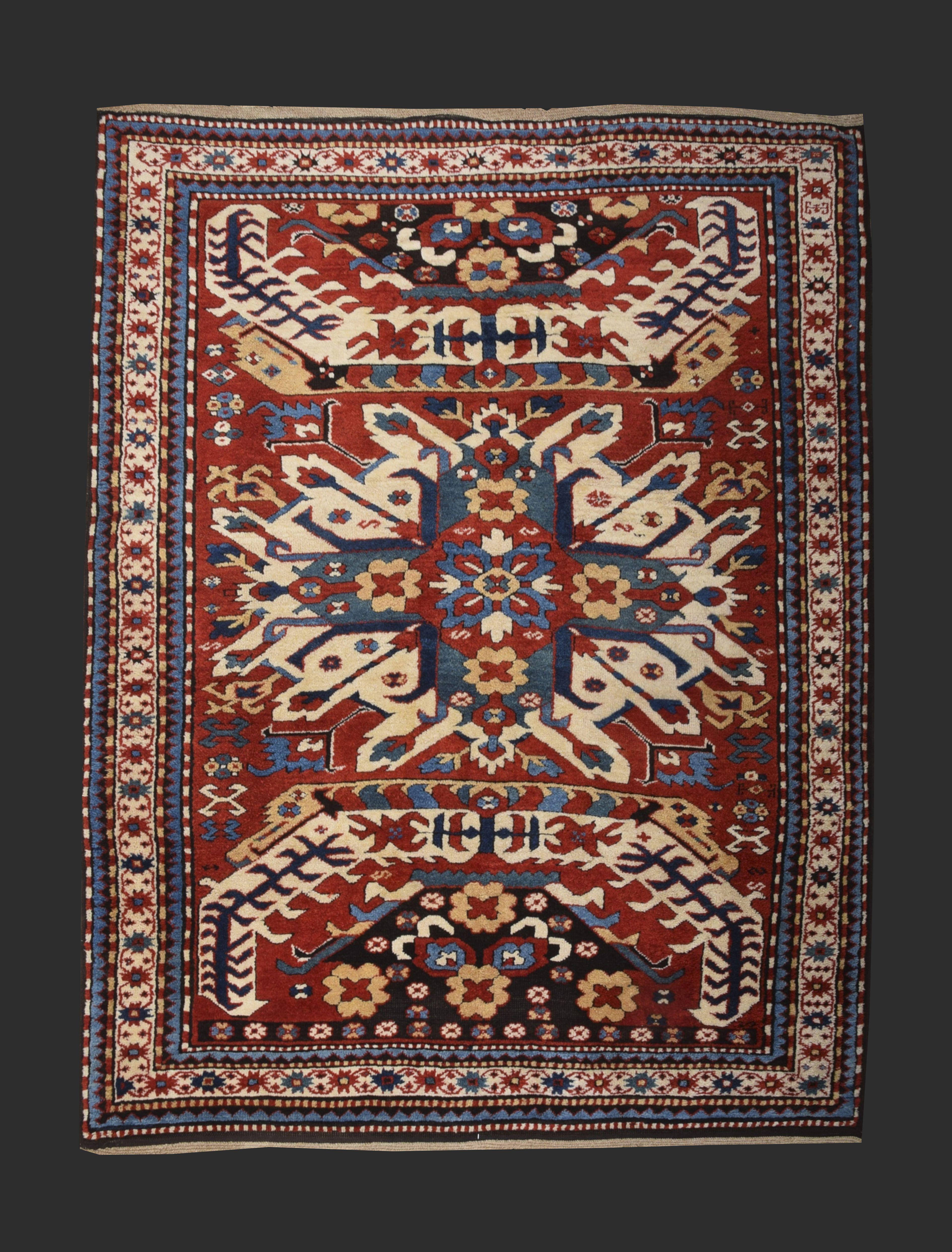 19th Century Caucasian Chalaberd Rug Gallery Aydın Oriental Rugs Company