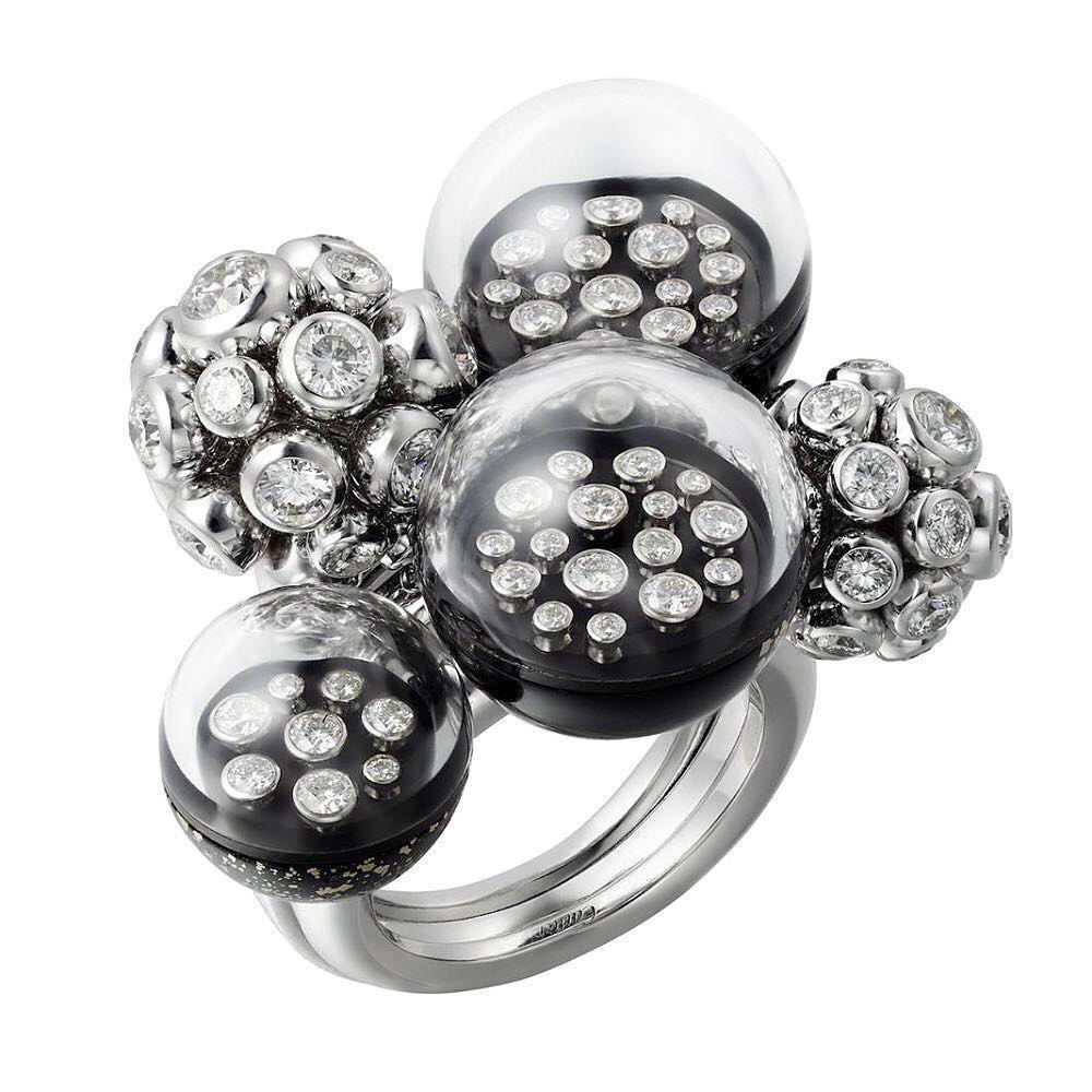Les Galaxies de Cartier collection Ring ... @cartier #finejewelry #finejewellery #highjewellery #highjewellery #cartierhighjewelry…