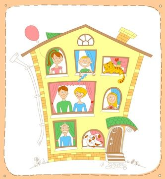 Large Families Living In Small Houses Larger Family Life Large Families Living Large Family Large Family Organization