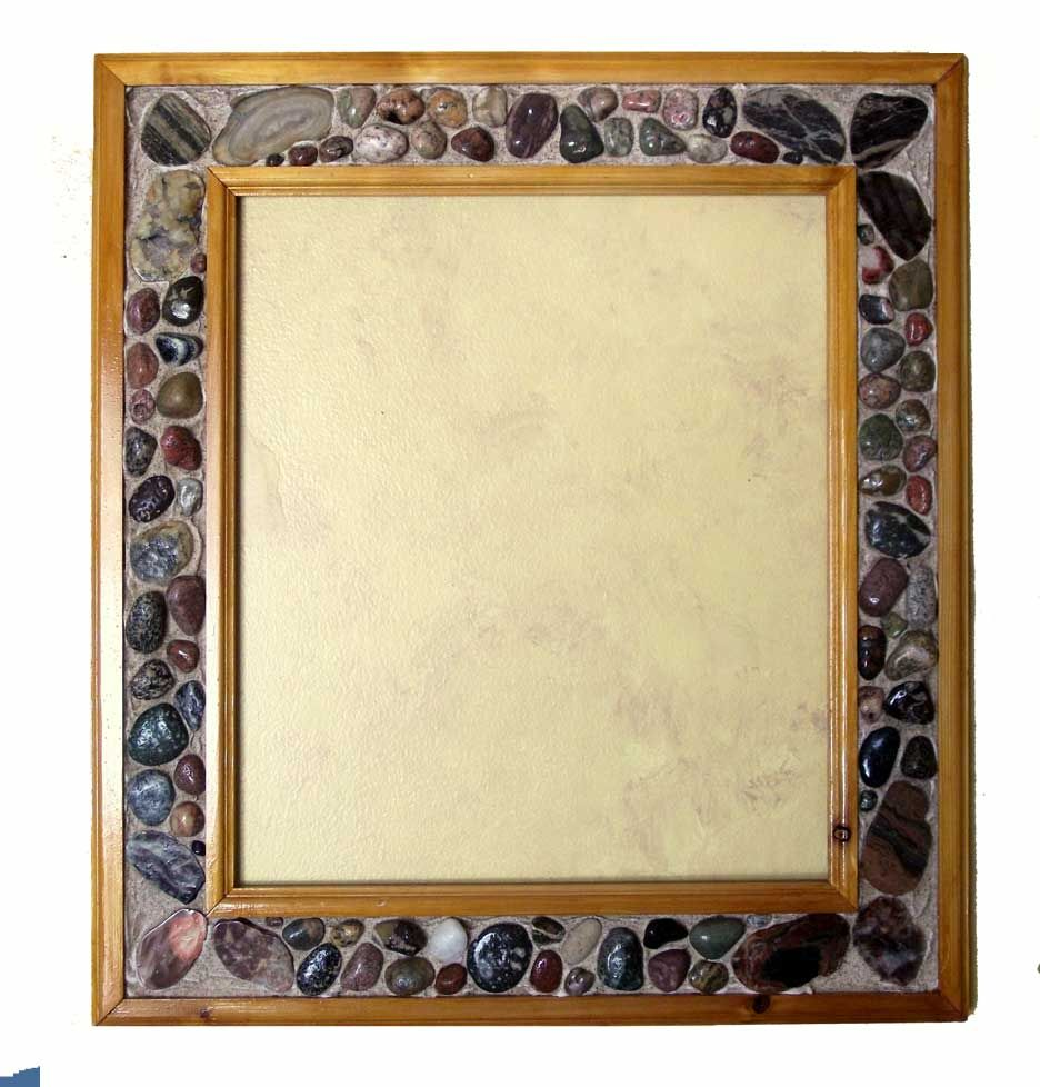Cedar Lake Stone Frame with Mirror or Glass buy at Lights in the ...