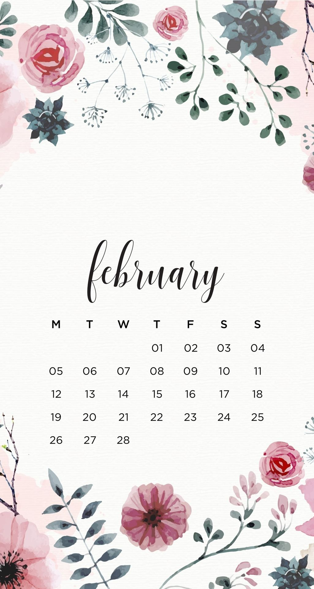 emma's studyblr — February Floral Phone Wallpapers Here ...