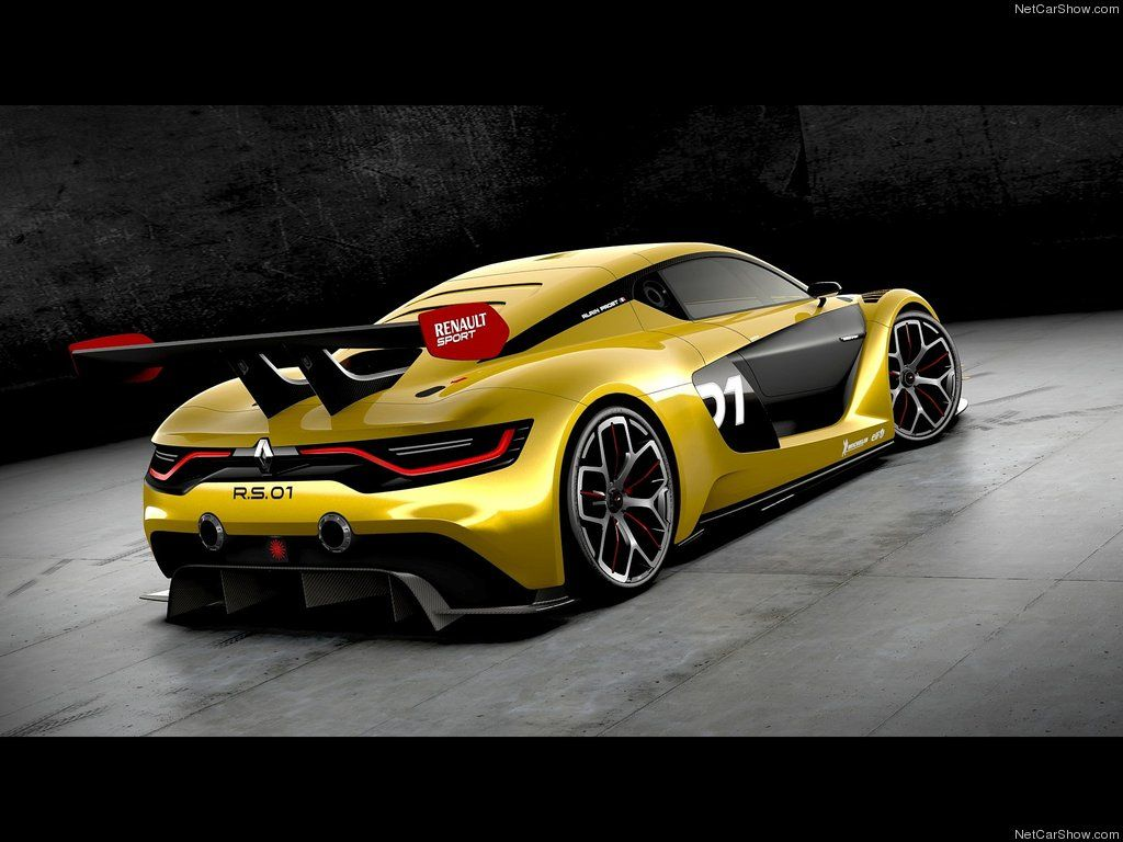 The Renault Sport RS 01 Racecar Coches increíbles