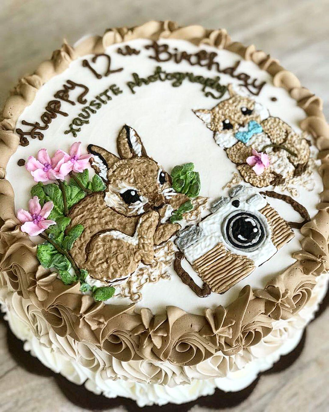 Birthday Cake Bandung : birthday, bandung, Decorating