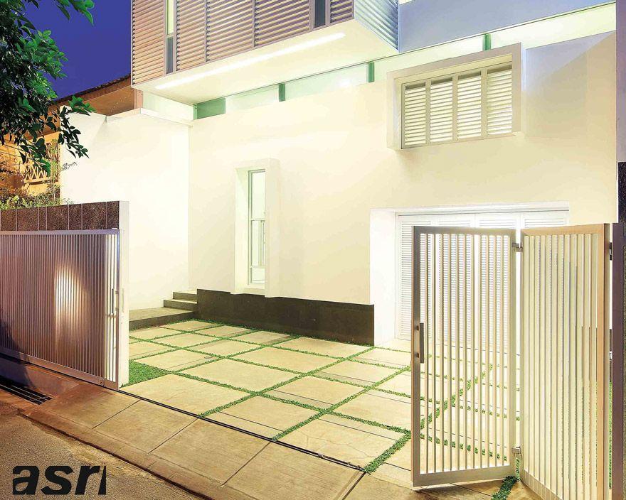 Memilih lantai carport yang tepat eksterior house