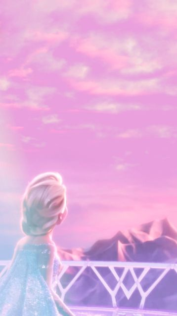 Frozen Concept Disney Wallpaper Pemandangan Khayalan