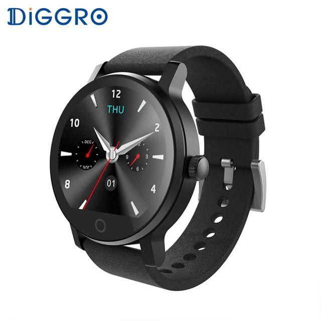 Diggro K88H Plus Smart Watch HD Display Heart Rate Monitor
