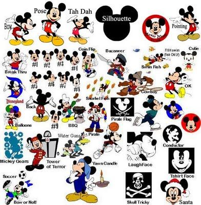 Mickey Svg Click The Red Word Then Right Click And Save Disney Scrapbook Disney Scrapbook Pages Cricut