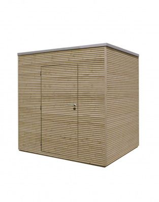 Garden Sheds 2m X 2m modern box 1 a 2m x 2m stylish solution to garden storage