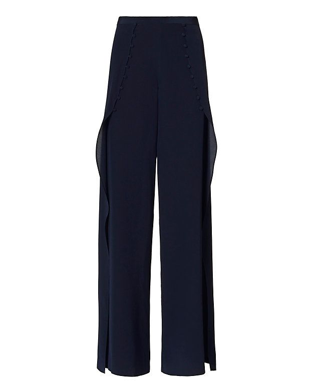 Exclusive for Intermix Charlotte Pant: Navy: Bring a fresh spring to your look…