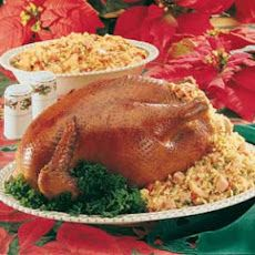 For a #recipe your family will look forward to this holiday season: Roast Chicken with Creole Stuffing.