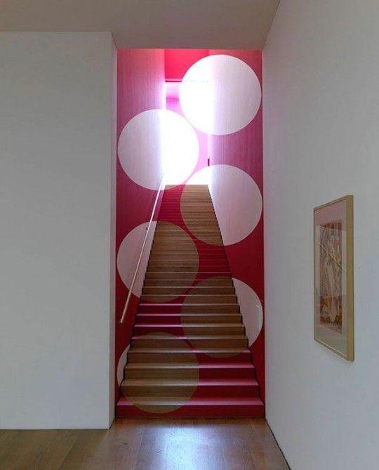 25 idées déco avec des formes géométriques | Perspective, Stairways ...