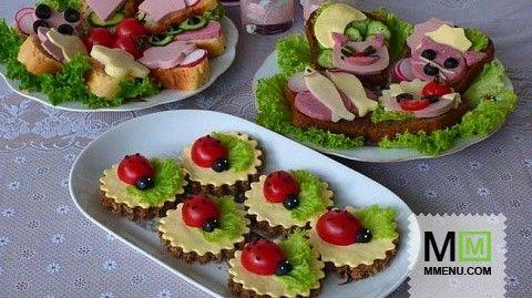 Весёлые бутерброды