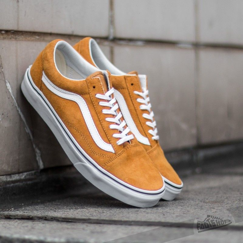 vans old skool trainers tan
